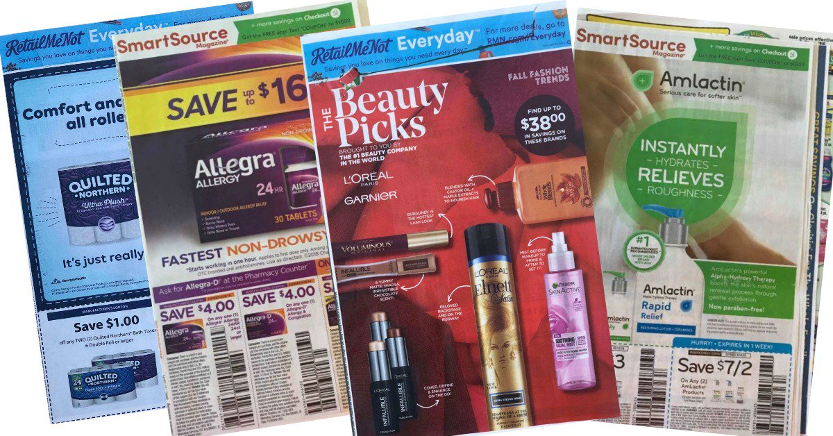 Coupon Inserts 9-9 Set of 4